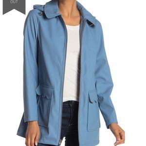 NWOT Kate Spade Matte Coated Rain Coat